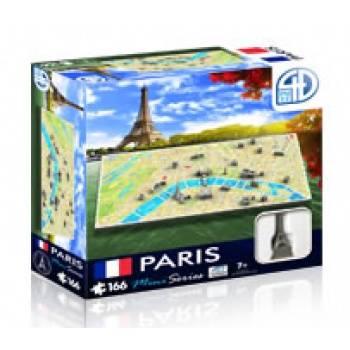 4D Cityscape - Paris Mini Puzzle