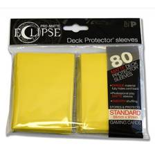 UP - Standard Sleeves - PRO-Matte Eclipse - Yellow (80 Sleeves)