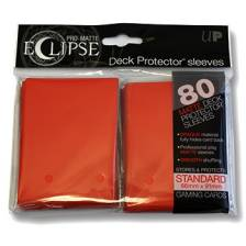 UP - Standard Sleeves - PRO-Matte Eclipse - Red (80 Sleeves)