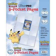 UP - PKM - 9-Pocket Pages Pack (10 Pages)