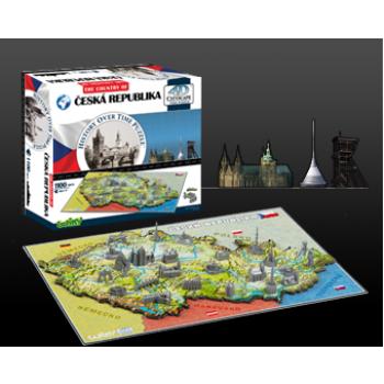 4D Cityscape - Czech Republic Puzzle