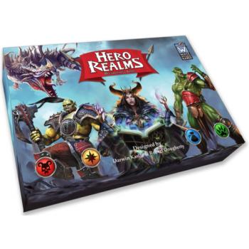 Hero Realms Deckbuilding Game Display (6 Packs)