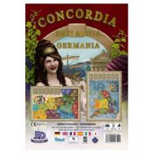 Concordia: Britannia / Germania Erweiterung - EN/DE