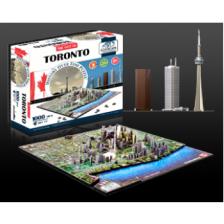 4D Cityscape - Toronto Puzzle