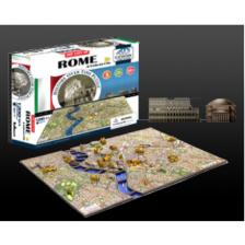4D Cityscape - Rome Puzzle