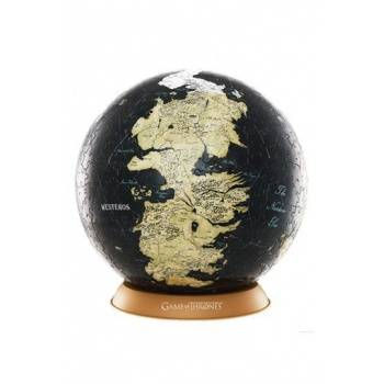 4D Cityscape - Game Of Thrones / The Unknown World 3D Globe (240 Pcs)