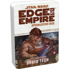 Star Wars RPG: Edge of the Empire - Droid Tech Specialization Deck