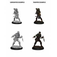 WizKids Deep Cuts Unpainted Miniatures - Bandits (6 Units)