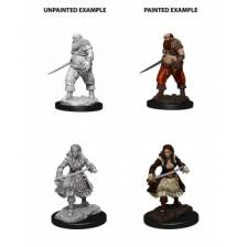 WizKids Deep Cuts Unpainted Miniatures - Pirates (6 Units)