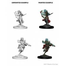 Air Genasi Female Rogue (PACK OF 6): D&D Nolzur's Marvelous Unpainted Miniatures (W4)