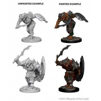 D&D Nolzur's Marvelous Miniatures - Dragonborn Male Fighter (6 Units)