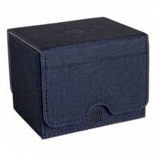 Blackfire Convertible Premium Deck Box Single Horizontal 100+ Standard Size Cards - Blue