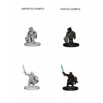 D&D Nolzur's Marvelous Miniatures - Dwarf Female Paladin (6 Units)