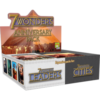 7 Wonders Anniversary Packs Cities/Leaders - CDU