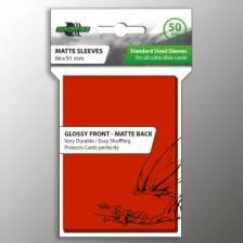 Blackfire Standard Sleeves - Red (50 Sleeves)