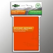 Blackfire Small Sleeves - Double-Matte Orange (60 Sleeves)