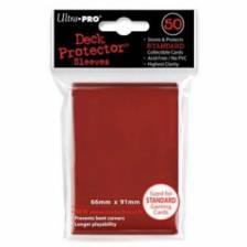 UP - Standard Sleeves - Red (50 Sleeves)