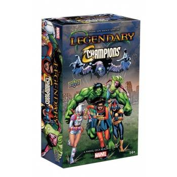 Legendary: A Marvel Deck Building Game Expansion - Champions