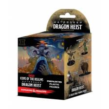 D&D Icons of the Realms - Waterdeep Dragon Heist 8 Ct. Booster Brick (Set 9)
