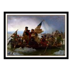 UP - Standard Sleeves - Fine Art Washington Crossing the Delaware (65 Sleeves)