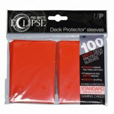 UP - Standard Sleeves - PRO-Matte Eclipse - Apple Red (100 Sleeves)