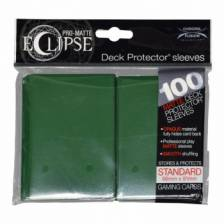 UP - Standard Sleeves - PRO-Matte Eclipse - Forest Green (100 Sleeves)