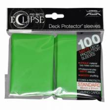 UP - Standard Sleeves - PRO-Matte Eclipse - Lime Green (100 Sleeves)