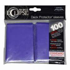 UP - Standard Sleeves - PRO-Matte Eclipse - Royal Purple (100 Sleeves)
