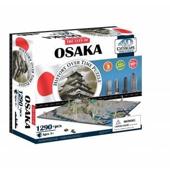 4D Cityscape - Osaka Puzzle