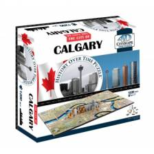 4D Cityscape - Calgary Puzzle