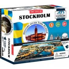4D Cityscape - Stockholm Puzzle