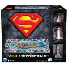 4D Cityscape - Mini Superman Metropolis Puzzle