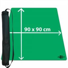 Blackfire Ultrafine Playmat - Green 90x90cm with carrybag