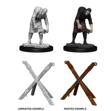 Assistant & Torture Cross (PACK OF 6): Pathfinder Deep Cuts Unpainted Miniatures