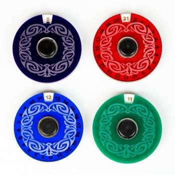 Blackfire Life Counter - 4 Counter Discs Color