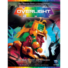 Overlight RPG: The Skyborn Order and Its Enemies & Game Master Screen