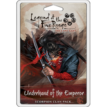 Underhand of the Emperor Scorpion Clan Pack L5R LCG