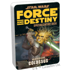 Star Wars RPG: Force and Destiny - Colossus Specialization Deck