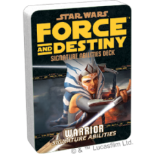 Star Wars RPG: Force and Destiny - Warrior Signature Abilities Deck