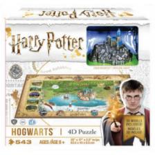 4D Cityscape - Harry Potter Hogwarts Puzzle