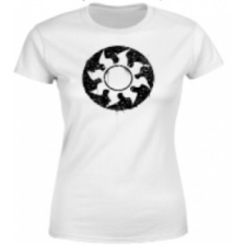 Magic The Gathering White Mana Splatter Women's T-Shirt - White - L