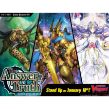 Cardfight!! Vanguard V - The Answer of Truth Extra Booster Display (12 Packs)
