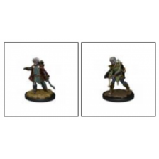 WizKids Wardlings Painted RPG Figures: Zombie (Male) & Zombie (Female) (6 Units)