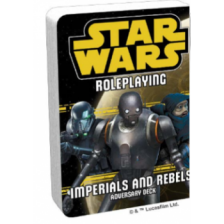 Star Wars RPG: Imperials and Rebels III Adversary Deck