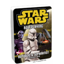 Republic and Separatist Adversary Deck: Star Wars Roleplaying