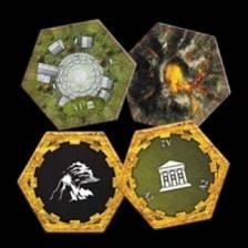 Clockwork Wars: Academy and Volcano Hex Set