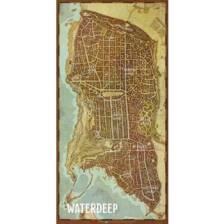 D&D: Waterdeep Vinyl Game Mat 20