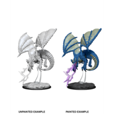 Young Blue Dragon: D&D Nolzur's Marvelous Unpainted Miniature (W8)