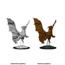 Young Copper Dragon: D&D Nolzur's Marvelous Unpainted Miniature (W8)