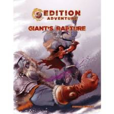 5th Edition Adventures: Giant's Rapture